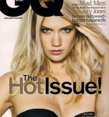January Jones - GQ Magazine Cover