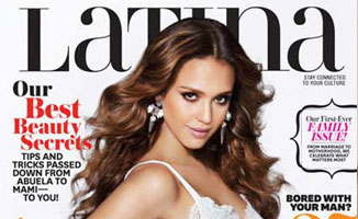 Latina Cover: Jessica Alba