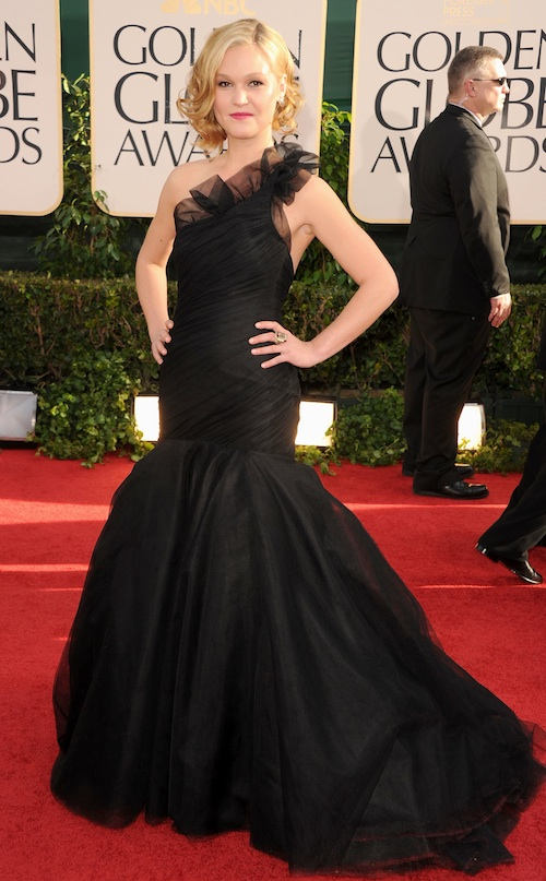 arrives at the 68th Annual Golden Globe Awards held at The Beverly Hilton hotel on January 16, 2011 in Beverly Hills, California.